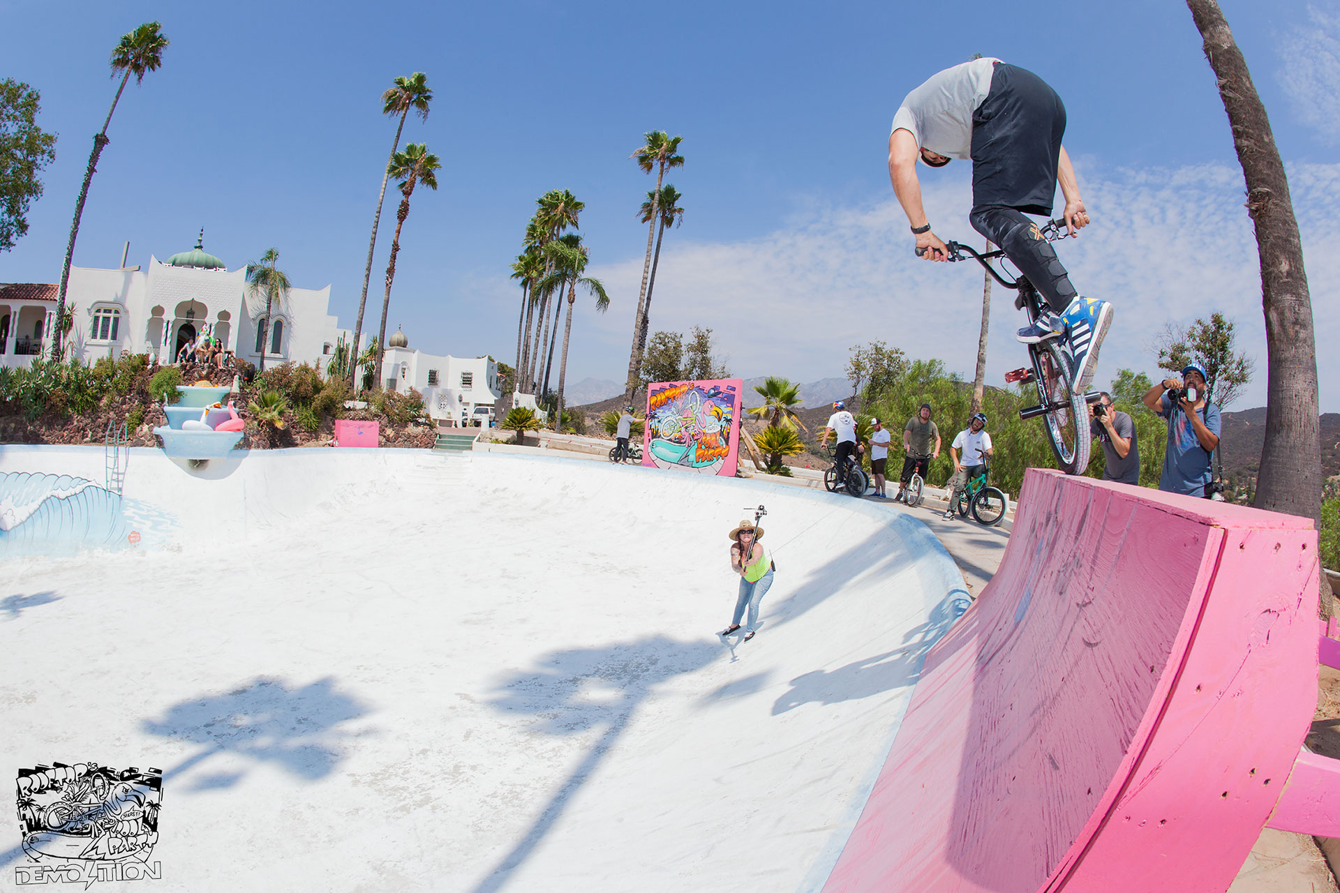 Rooftop's Secret Pool Party: Dave Osato whip nosepick!!